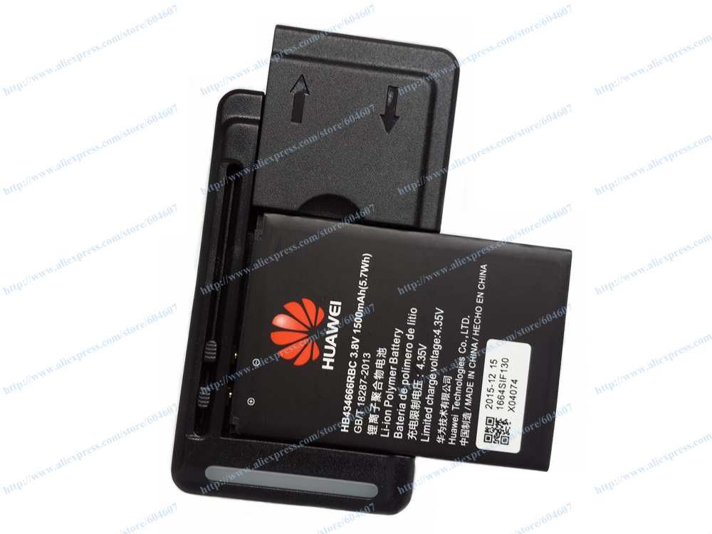 2pcs New HB434666RAW HB434666RBC Battery+Wall Charger For Huawei Mobile 4G WiFi E5573 E5573S E5573S-856 852 853 Phone