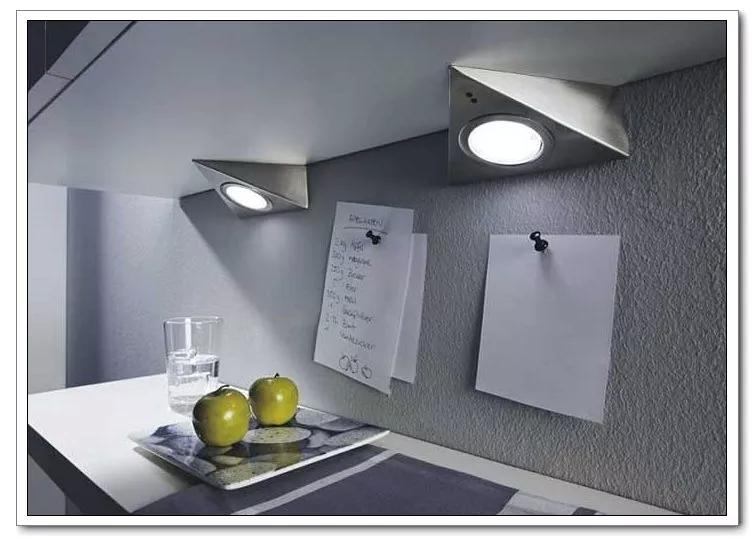 LED Kitchen Triangle Downlight Under Cabinet Light Cupboard Wardrobe