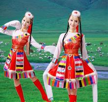 Buy Chinese Folk Dance Costume National Mongolia Dance Costume Long Sleeve Chinese Minority Clothing Apparel Stage Performance 89 for $29.44 in AliExpress store