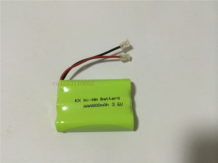 4PCS/lot New riginal Ni-MH AAA 3.6V 800mAh Ni MH Rechargeable Battery Pack With Plugs For Cordless Phone Free Shipping(China (Mainland))