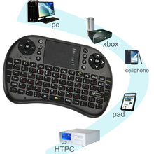 2.4Ghz Wireless Mini USB Wireless Russian Letter Gaming Keyboard Touchpad for Loptop Desktop Android Windows TV Box other Phones(China (Mainland))