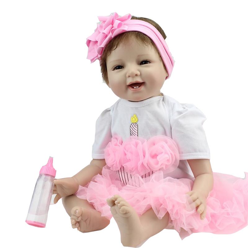Фотография NEW hot sale lifelike reborn baby doll wholesale baby dolls fashion doll Christmas gift new year gift