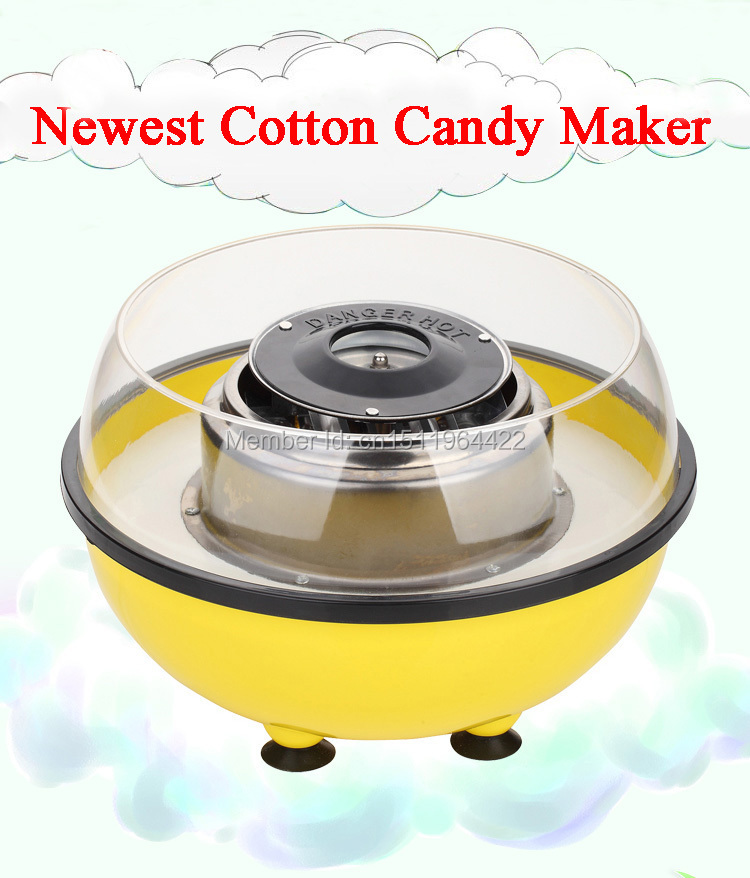 Free Shipping New Arrival Mini Nostalgia Cotton Candy Maker Machine 110V or 220V DIY Child Christmas Gifts(China (Mainland))