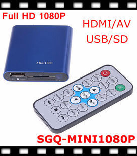 1080P Full hd player Full HD 1080P Media Player HDD Players(China (Mainland))