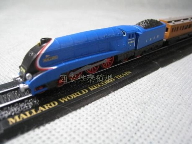 1:220 Z Mallard proportion of World Records Set Model trains Toy Free shipping(China (Mainland))