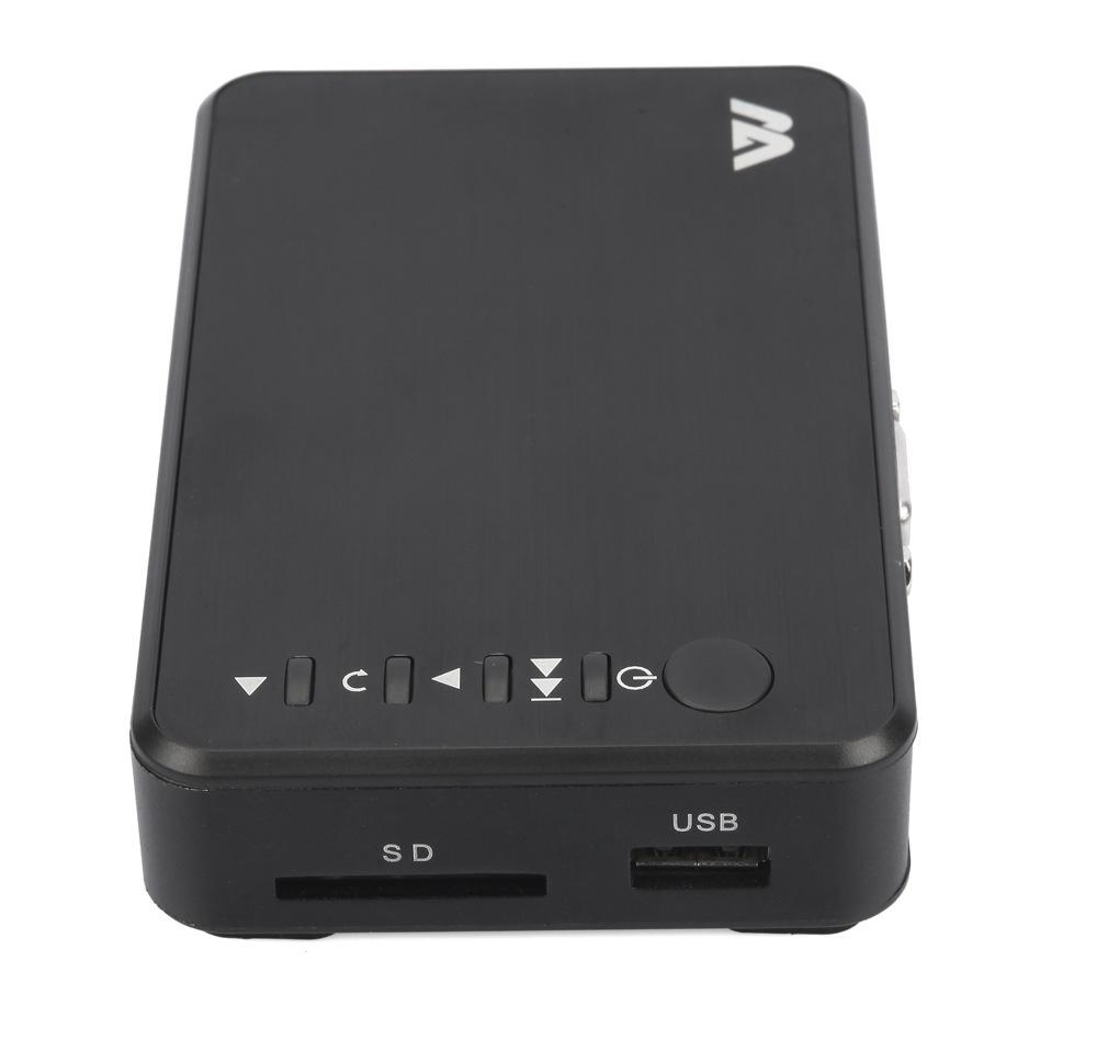High Quality HD 1080P USB External HDD Multi Media Player TV Movie Player with HDMI VGA SD Support MKV H.264 RMVB WMV(China (Mainland))