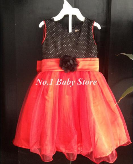 Free shipping 2017 New Children's wedding dress,Good quality Baby girl wedding clothes(China (Mainland))
