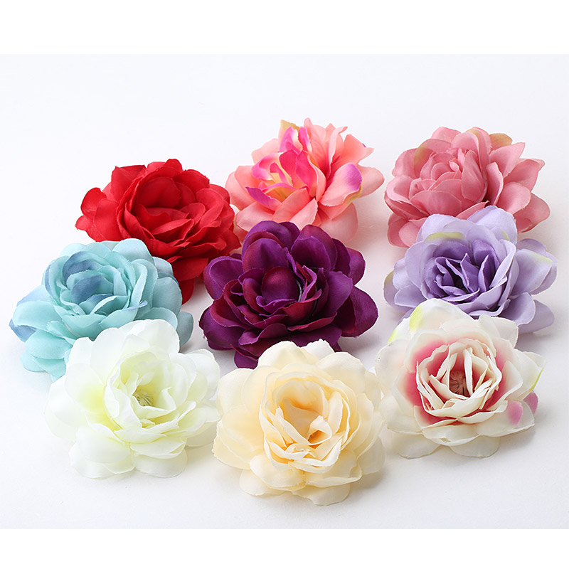 M MISM 2017 Beauty Flower Hair Clips For Girls Bohemian Style Floral Women Girl Hairpins Accessories Blooming Headwear Wholesale(China (Mainland))