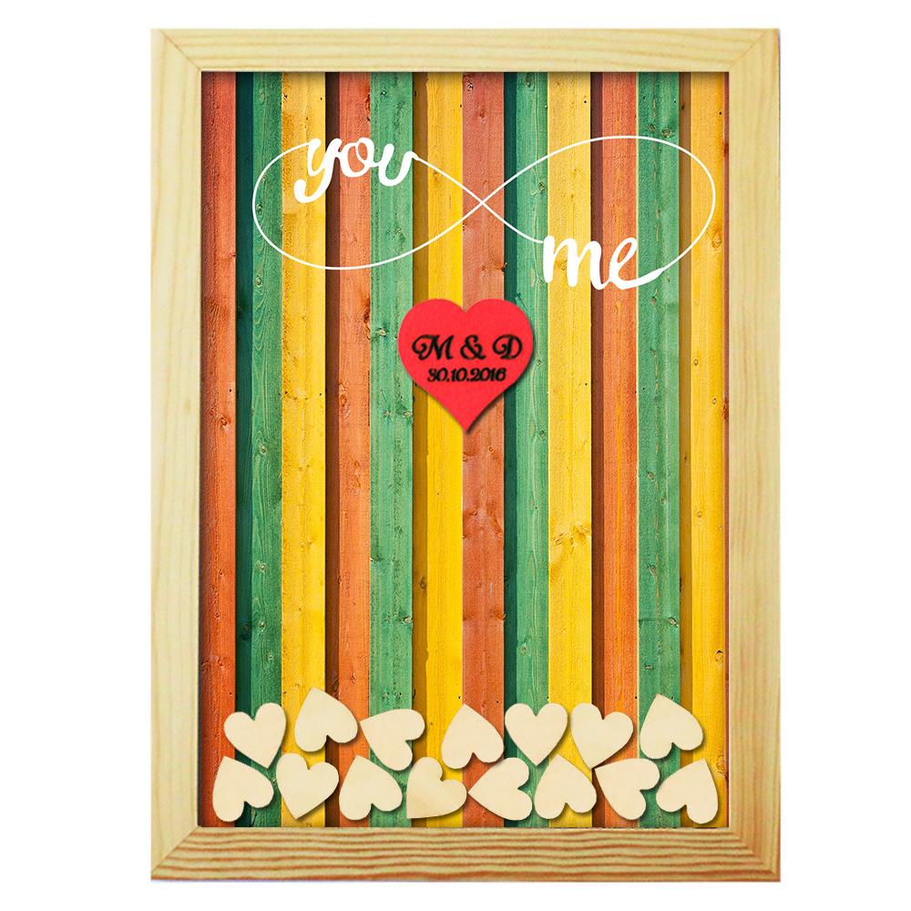 Wedding Gift Drop Box : Unique Guestbook Heart Drop Box Personalized GuestBook Wedding Gift ...