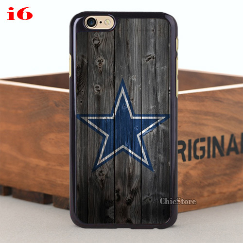 Customized 1PC Dallas Cowboys Hard Plastic Case for iPhone 4 4s 5 5s 5C 6 6plus(China (Mainland))
