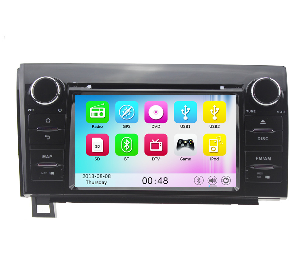 Wince 6.0 MT3360 3G WIFI Car DVD Player Radio Stereo GPS Navigation System For Toyota Tundra Sequoia 2008 2009 2010 2011-2015(China (Mainland))