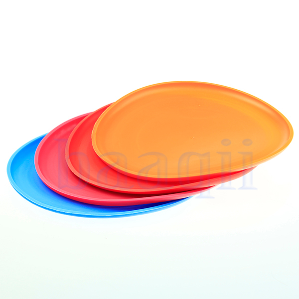 Silicone Dog Puppy Pet Flying Frisbee Soft Play Outdoor Disc Chew Toy PT096(China (Mainland))