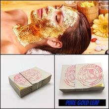 20PCS Thailand Anti-Aging 24K Gold Foil Leaf Mask Moisturizing Facial Gold Foil Sheets Masks Beauty SPA Equipment