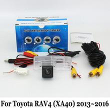 Rear View Camera For Toyota RAV4 RAV 4 RAV-4 2013~2016 (No Spare Wheel On Door ) / Wired Or Wireless HD CCD Night Vision Camera(China (Mainland))