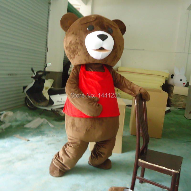 Red vest teddy bear adult cartoon garment size free shippingОдежда и ак�е��уары<br><br><br>Aliexpress