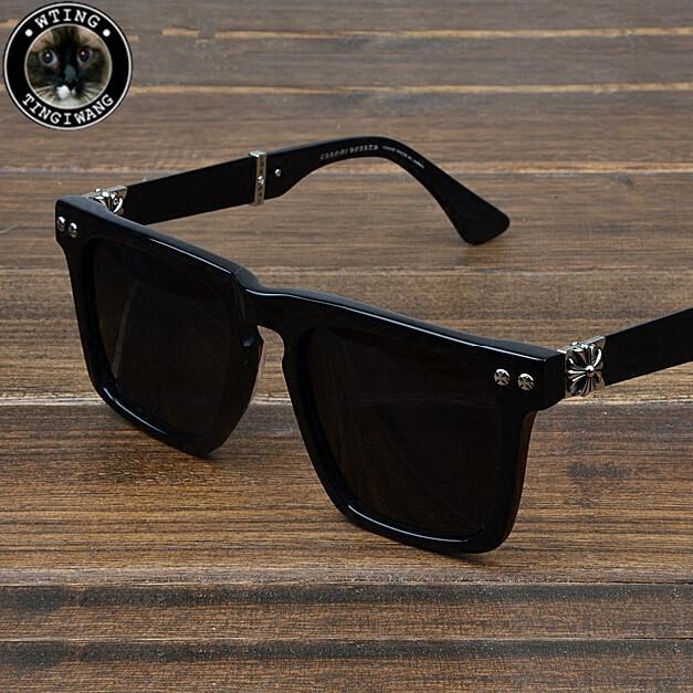 Brand Winner Brand Designer Sunglasses Men Full Frame Vintage Eyeglasses Square Glasses 2016 Coating Eyewear