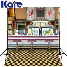 5x7ft(150x220cm) Kate Baby Background For Photo Studio Restaurant Waiter Photography Backdrops Photographic Studio Background