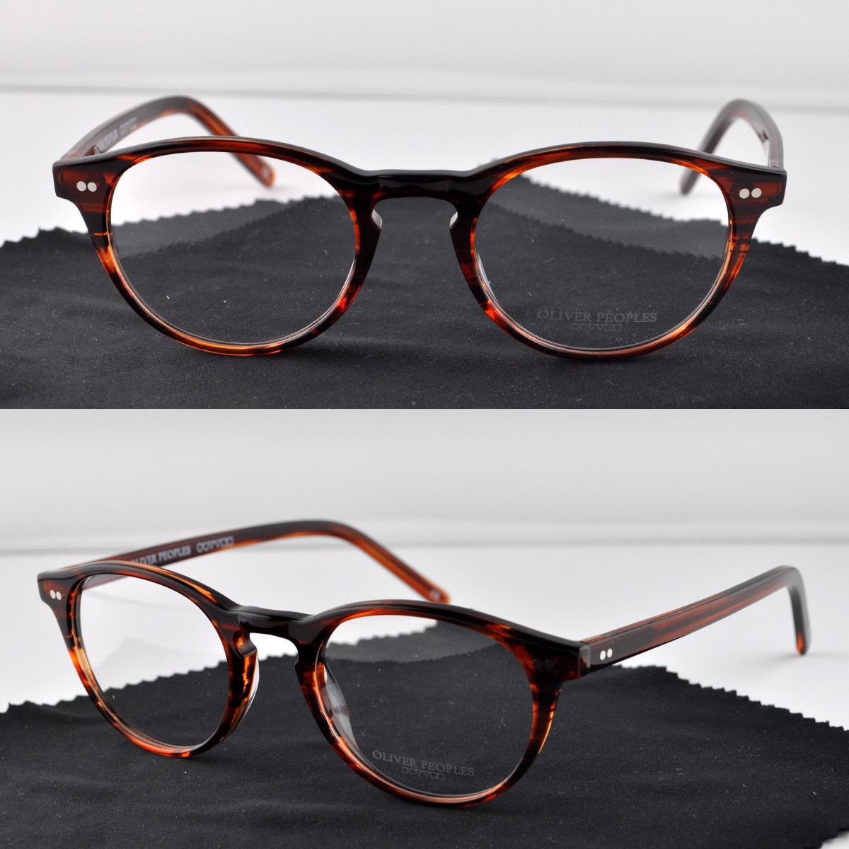 Oliver oliver peoples riley k small vintage eyeglasses ...