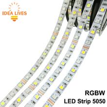 LED Strip 5050 RGBW Waterproof DC12V Flexible LED Light RGB + White / RGB + Warm White 60 LED/m 5m/lot.(China (Mainland))