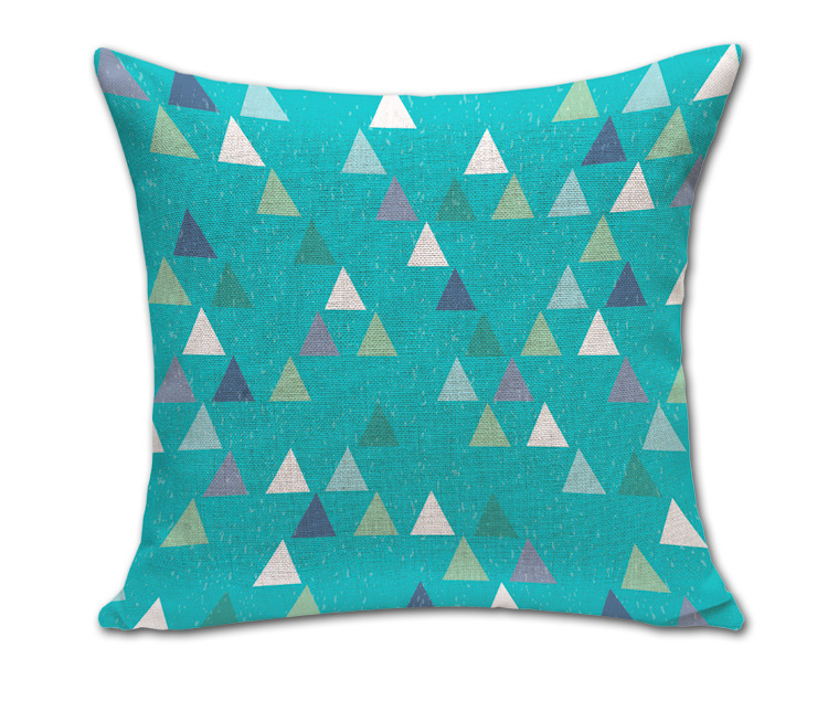Factory Supply Europe And European Style Modern Minimalist Geometric Patterns Mianma Pillow Home Furnishing Hug Cushion