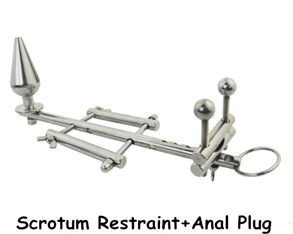 Scrotum restraint device,chastity device,Scrotum Pendant,sex product for man penis,Alternative Stimulate,ball stretcher,sex toy<br><br>Aliexpress