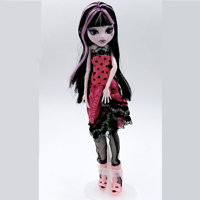 Original Inc High Dolls/Clawdeen Wolf/New Styles Plastic Toys Best Gift Without Box Free Shipping Moveable Joint Body C0A857(China (Mainland))