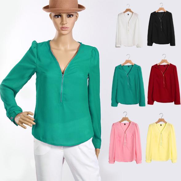 Женские блузки и Рубашки V Blusas Femininas 2015 LJ021QAF женские блузки и рубашки summer blouse blusas femininas 2015 roupas s