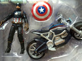 The Marvel Avengers Figure super hero Captain America 3 Civil War models chariot motorcycle doll action