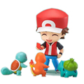 Nendoroid Pokemon Ash Ketchum Zenigame Charmander Bulbasaur Reshiram Action Figure Toy Pokemon Red Anime Collectible Model