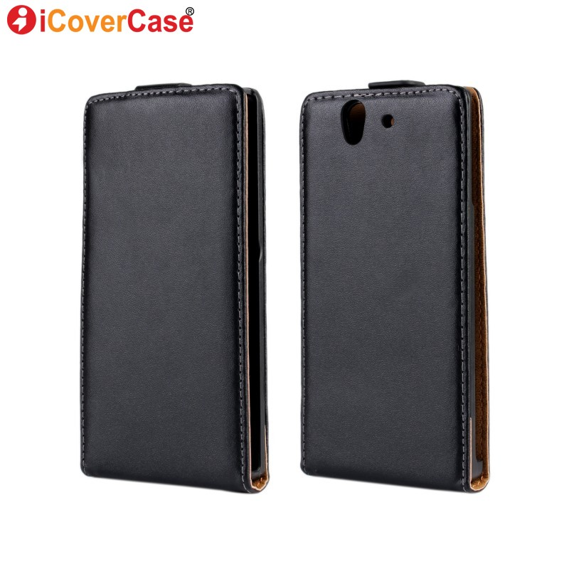 Case Sony Xperia Z Cover Flip Leather Cases C6602 Capa Fundas C6603 C660x L36i L36h Coque Shell Carcasas Hoesjes - icovercase Official Store store
