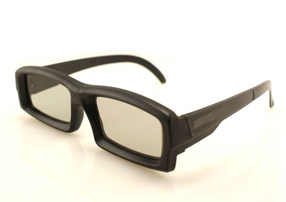 3d linear polarized sunglasses for 3d linear polarized film with freeshipping(China (Mainland))