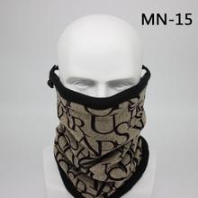 2018 nueva moda invierno buho Bandana bufanda hombres Moto vincha camuflaje multifuncional sin costuras Tubular Unisex cálido anillo envoltura(China)