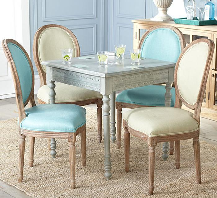 * Special multicolor French furniture / wood oak chair round-backed chair / Restaurant Hotel Cafe(China (Mainland))