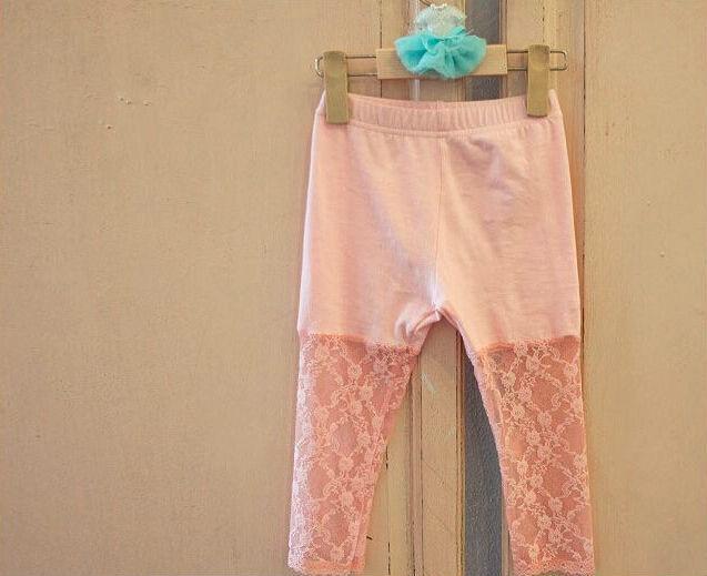 Лето маленькие девочки кружево половина брюки дети узкие