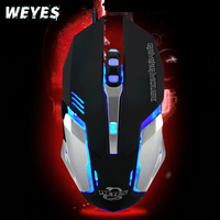 Silent Frosted Ergonomics Wired for Gaming Mouse for pc DPI LED Optical USB Gamer Computer Mouse Mice Cable Mouse High Quality