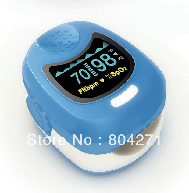 Blue CMS 50QB For Children+Factory FREE Shipping CE and FDA Approved Fingertip Pulse Oximeter<br><br>Aliexpress