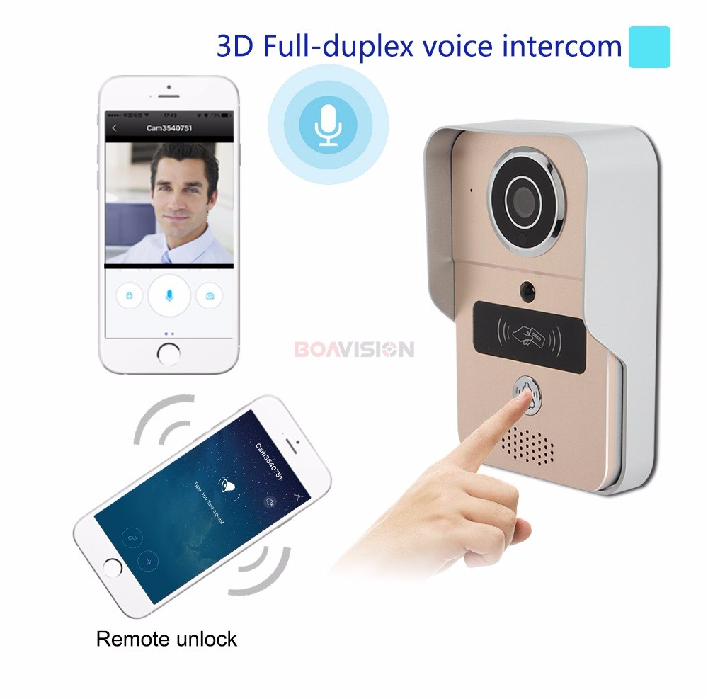 03 Wifi Video Door Phone