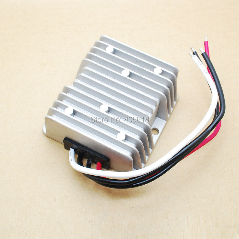 2pcs Free Shipping E-bike 24V Step Down to 13.8V DC 20A 276W for car charge Electric Vehicle DC Converter(Hong Kong)