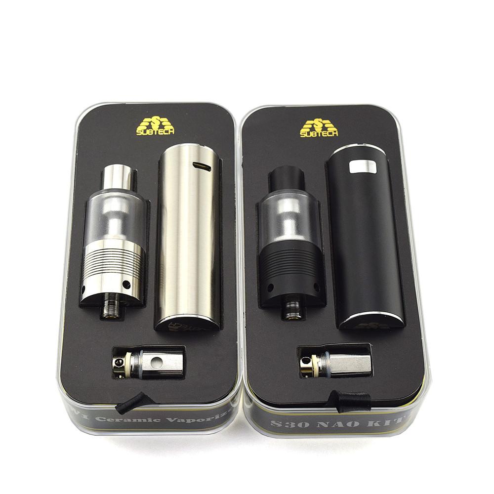 ถูก 2016Newมาถึงบุหรี่อิเล็กทรอนิกส์S30นาโน30วัตต์แบตเตอรี่Vapenปากกา2.0มิลลิลิตรH9 vape 0.5ohmเครื่องฉีดน้ำความต้านทานอิเล็กทรอนิกส์บุหรี่ชุด