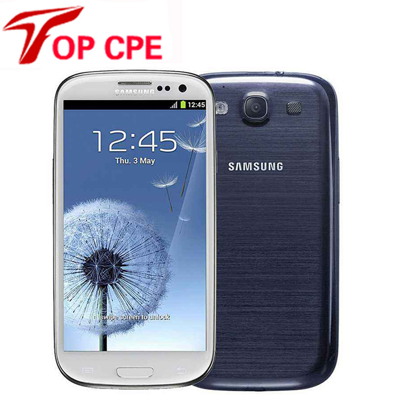 """unlocked samsung galaxy S3 i9300 original Mobile Phone Quad-core 4.8"""" 8MP WIFI3G&4G GSM Android GPS 16GBROM Free shipping(China (Mainland))"""