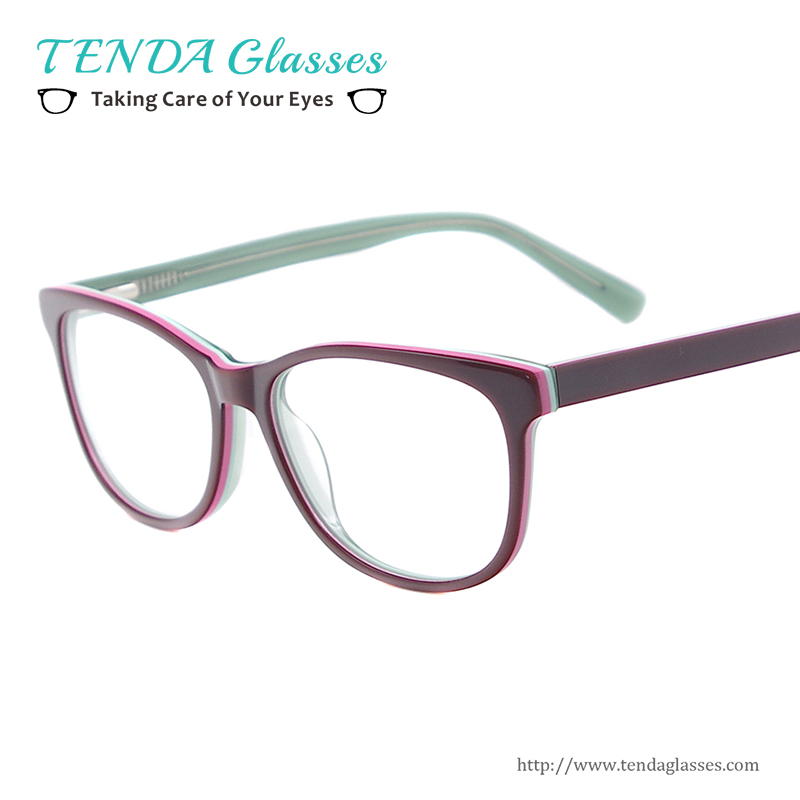 fashion acetate women eyewear small size oval prescription glasses frames for optical lenses myopia reading