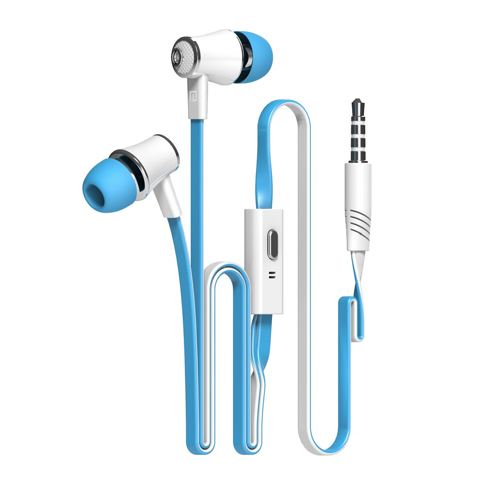 Super Bass Earphone Sport  3.5mm Stereo Noise Cancelling  Earphones Headset with Mir For iPhone Xiaomi Computer mp3 Mobile Phone