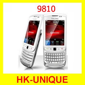 Первоначально открынный BlackBerry 9810 WiFi GPS 5.0MP камера 3.2 дюймов сенсорный экран 3 г сотовых телефонов бесплатная доставка