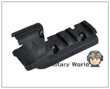 Element PA0205 Low Laser Light Flashlight Pistol Mount for M1911 Pistol Rail Adapter M1911 Airsoft Hunting Wargame Black