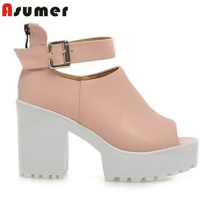 Large size womens shoes heels