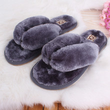 2016 New Hot Sale Spring Autumn 10Colors Soft Home Cotton Plush Slippers Women Indoor Floor Flip Flops Flat Shoes Free Shipping