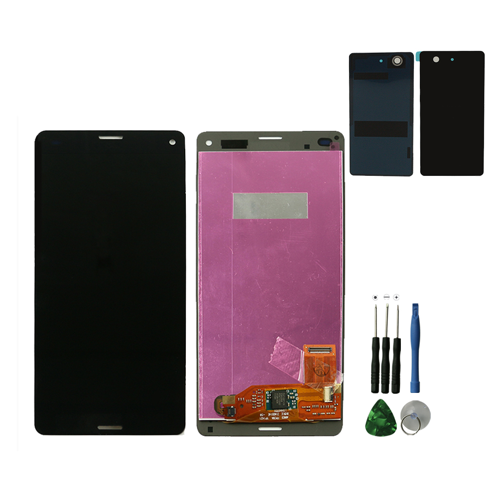 D5803 Battery Touch Screen For Sony D5833 Xperia Z3 Mini Compact Original Black Lcd Display Digitizer Assembly