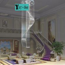 Free Shipping New Item Modern Spiral Design Led Chandelier Lights Lustre Home Lighting (China (Mainland))