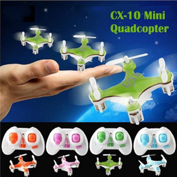 Free Shipping cheerson cx-10 mini 2.4ghz 4ch remote control helicopter drone cx 10 led toys with gift today<br><br>Aliexpress