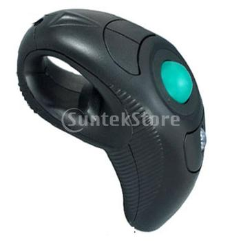 Free Shipping 10M 2.4GHz USB Handheld Wireless Trackball Mice Mouse